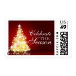 Árbol de navidad en Borgoña Sellos Postales