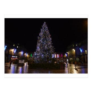 Árbol de navidad en Dundee Postales