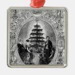 Árbol de navidad en el castillo de Windsor, 1848 Adorno