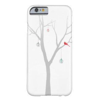 Árbol de navidad escaso funda para iPhone 6 barely there