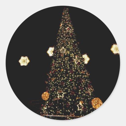 árbol de navidad etiqueta