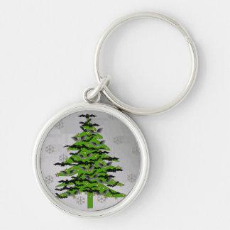 Árbol de navidad extravagantemente llavero