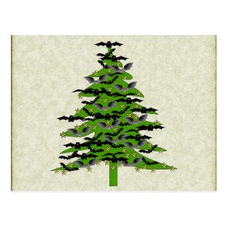 Árbol de navidad extravagantemente tarjeta postal
