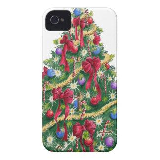 Árbol de navidad iPhone 4 protector