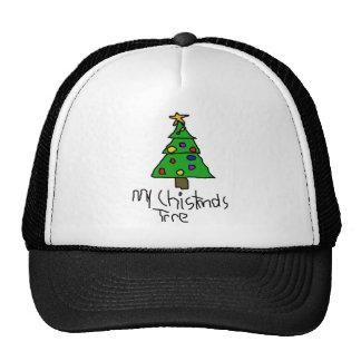 Árbol de navidad gorras