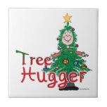 Árbol de navidad Hugger Azulejos
