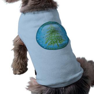 Árbol de navidad Hugger Camisetas De Perro