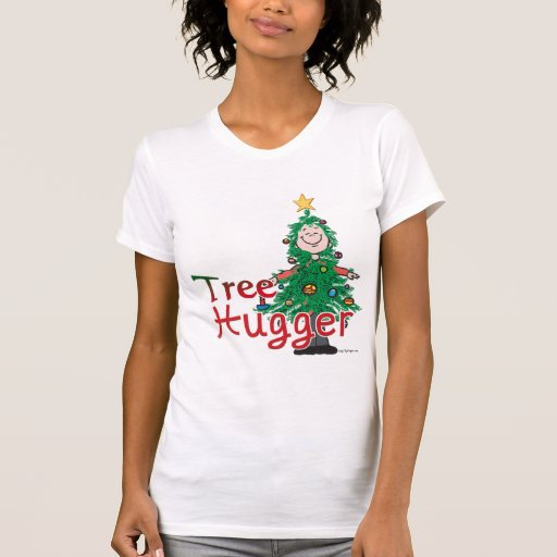 Árbol de navidad Hugger T Shirt