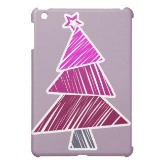 Árbol de navidad incompleto rosado