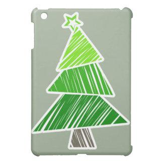 Árbol de navidad incompleto verde