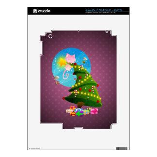 Árbol de navidad iPad 3 pegatina skin