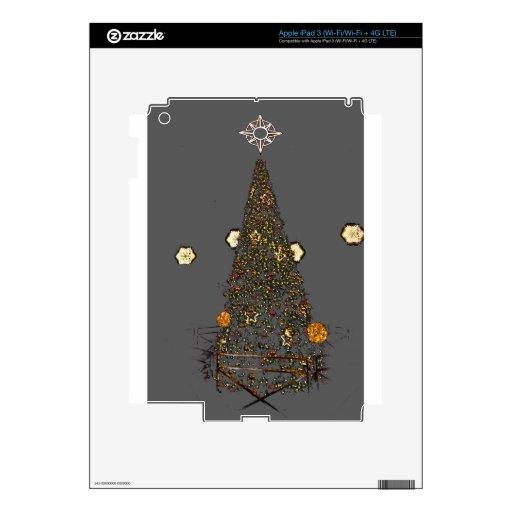 árbol de navidad iPad 3 skin