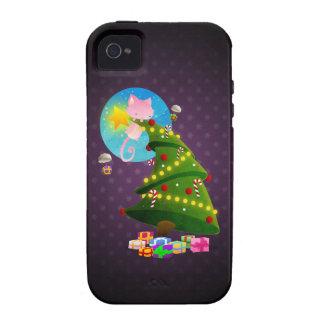 Árbol de navidad iPhone 4/4S funda