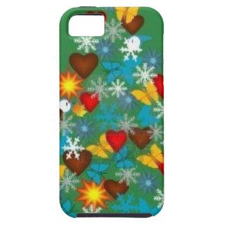 Árbol de navidad iPhone 5 fundas