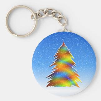 Árbol de navidad llavero personalizado