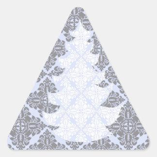 Árbol de navidad moderno clásico del modelo del calcomanía trianguladas personalizadas