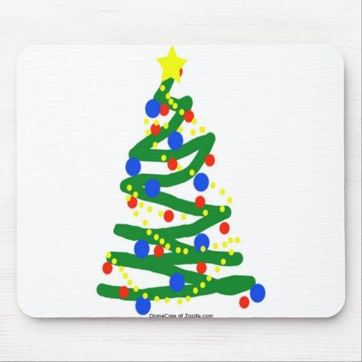 Árbol de navidad mousepad