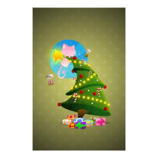 Árbol de navidad papelería