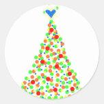 Árbol de Navidad Pegatina