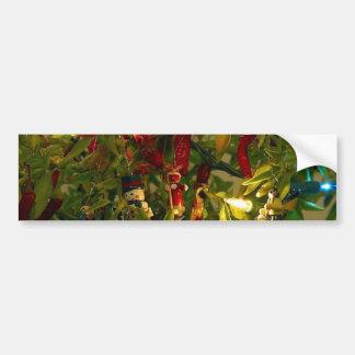 Árbol de navidad pegatina para auto