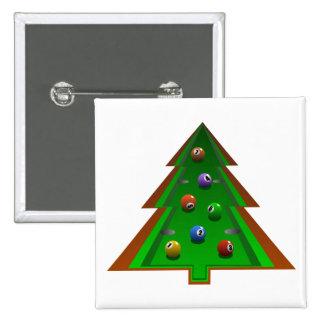 Árbol de navidad pin cuadrado