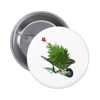Árbol de navidad pin redondo 5 cm