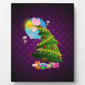 Árbol de navidad placas para mostrar