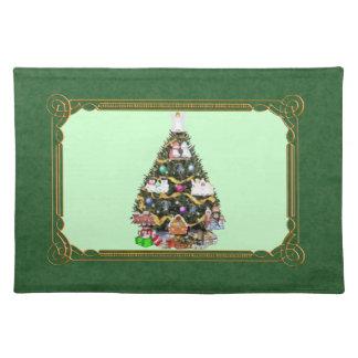 Árbol de navidad Placemat Manteles