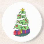 Árbol de navidad posavasos diseño