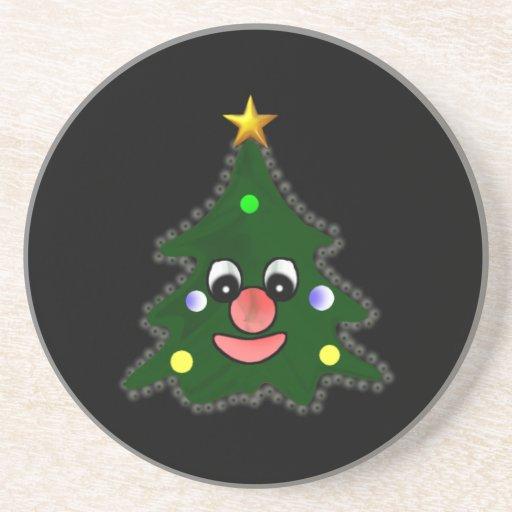 Árbol de navidad posavasos personalizados