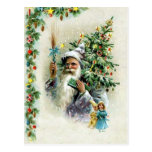 Árbol de navidad postal