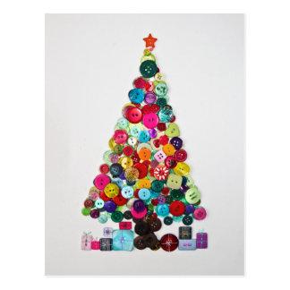 Árbol de navidad postales