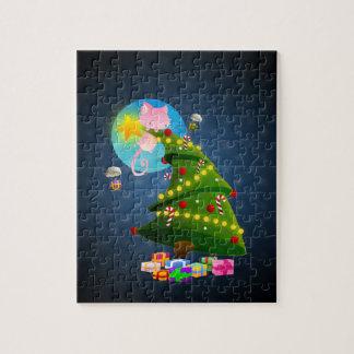 Árbol de navidad puzzles