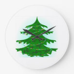 Árbol de navidad relojes