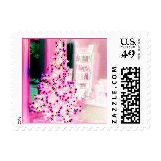 Árbol de navidad rosado