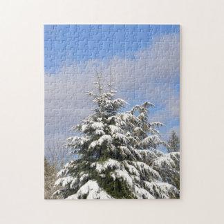 Árbol de navidad salvaje puzzles