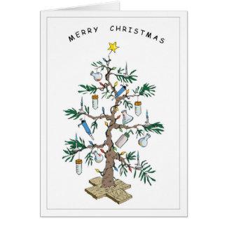 Árbol de Navidad Tarjeta De Felicitación