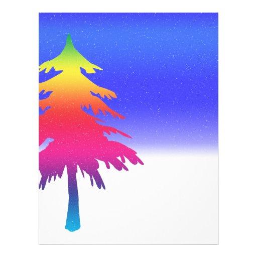 Árbol de navidad tarjetón