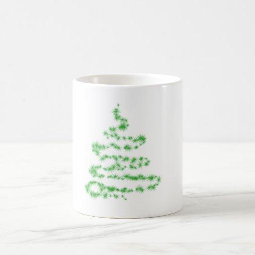 árbol de Navidad Tazas
