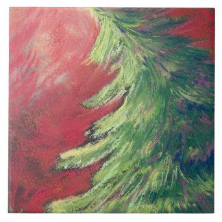 Árbol de navidad teja en colores pastel del pino