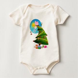 Árbol de navidad trajes de bebé