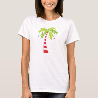 Árbol de navidad tropical playera
