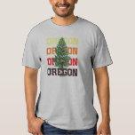 árbol de Oregon Playeras