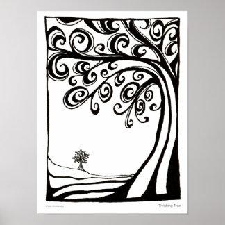 Árbol de pensamiento - poster