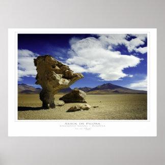 Árbol de Piedra Print
