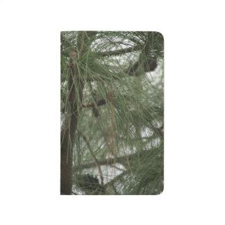 Árbol de pino cuaderno