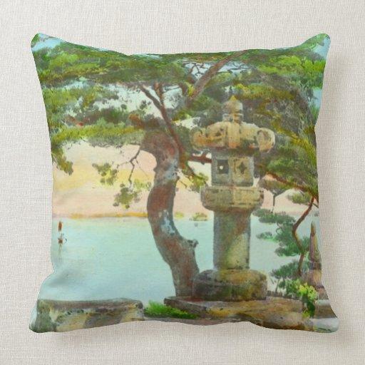 Árbol de pino de Matsushma 1915 Almohadas