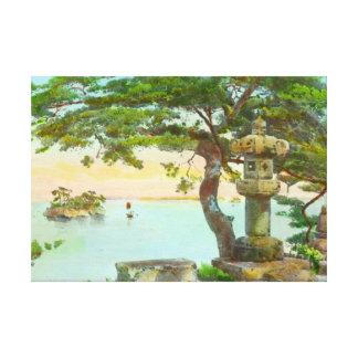 Árbol de pino de Matsushma 1915 Lienzo Envuelto Para Galerias