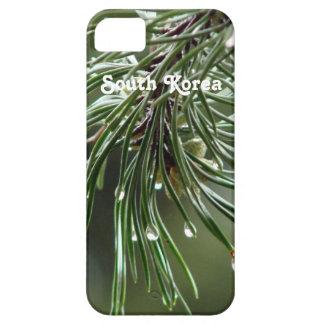 Árbol de pino funda para iPhone 5 barely there