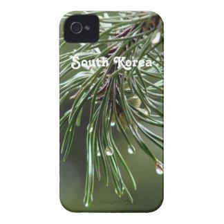 Árbol de pino Case-Mate iPhone 4 fundas